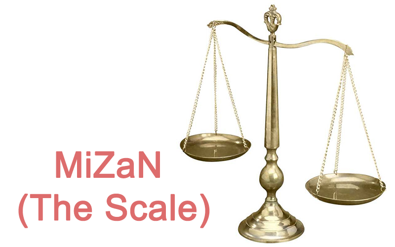 What are the number of Mizan (The Scale)